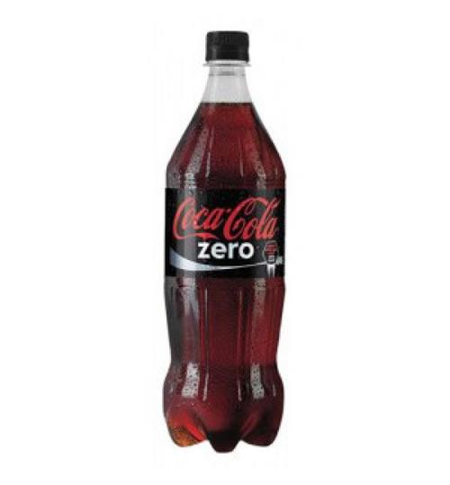 Pet Şişe Coca Cola Zero 1LT